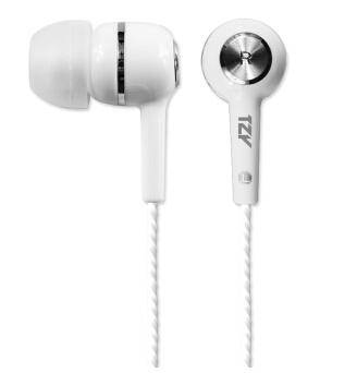 桐之音(TZY) E100 入耳式线控耳机耳塞(白色)
