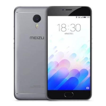 魅族 魅蓝note3 全网通版 16GB 移动联通电信4G手机 双卡双待 灰色
