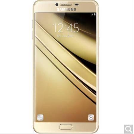 三星 Galaxy C7(SM-C7000)64G版 枫叶金 全网通 移动联通电信4G手机 双卡双待