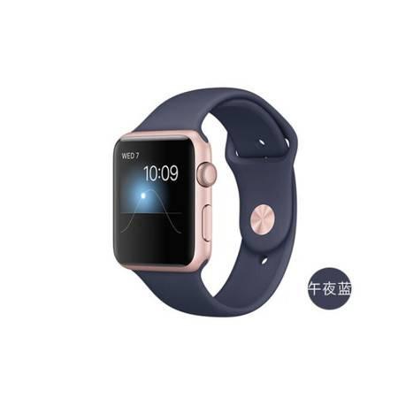 苹果 Apple Watch Sport Series 1智能 手表42毫米 玫瑰金 铝金属表壳