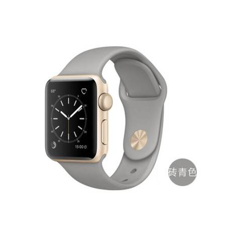 苹果 Apple Watch Sport Series 1智能 手表38毫米 金色 铝金属表壳