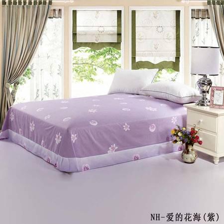 单独的被单2.4*2.6M圆角-爱的花海紫