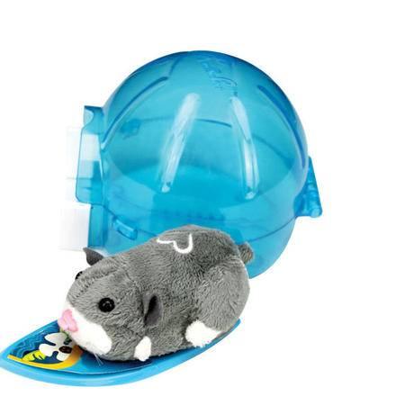 RunRunPark-猪猪宠物仓鼠冲浪板和睡眠圆顶+机动仓鼠一只(风靡世界小朋友最爱)