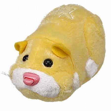 RunRunPark-猪猪宠物超可爱机动仓鼠 黄色(风靡世界小朋友最爱)