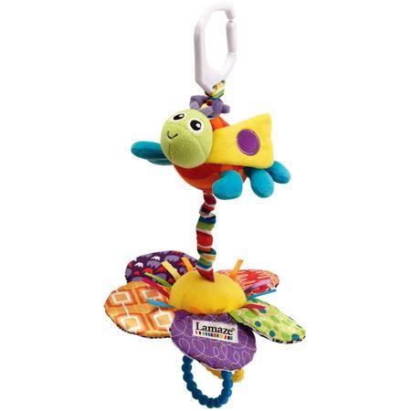 智乐美Lamaze-多功能益智玩具昆虫和花朵拉震(颜色鲜艳安全环保)
