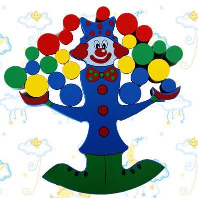 小丑平衡木(锻炼手脑协调)