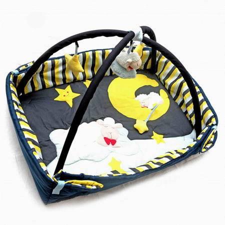 智乐美甜蜜小羊多功能婴儿健身架婴儿游戏毯