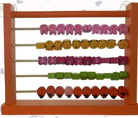 桔色动物计算架