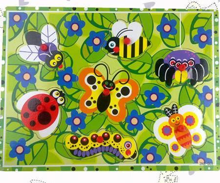 昆虫之家拼图
