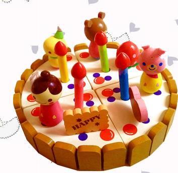 草莓美味生日蛋糕过家家切切看