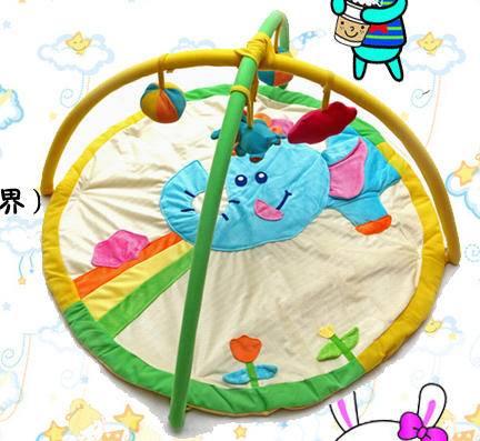 多功能婴儿健身架婴儿游戏垫(天鹅绒梦幻世界)