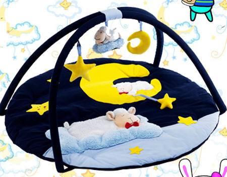 多功能婴儿健身架婴儿游戏垫(甜蜜小羊)