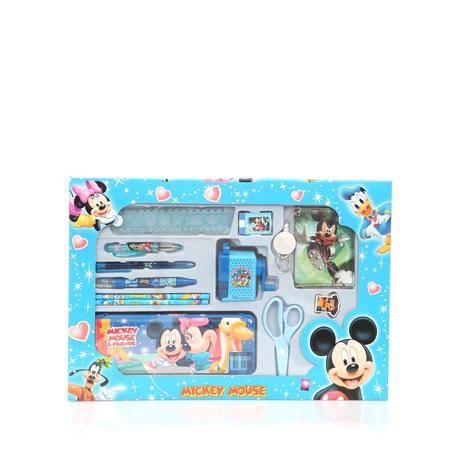 迪士尼文具礼盒十五件套装蓝色
