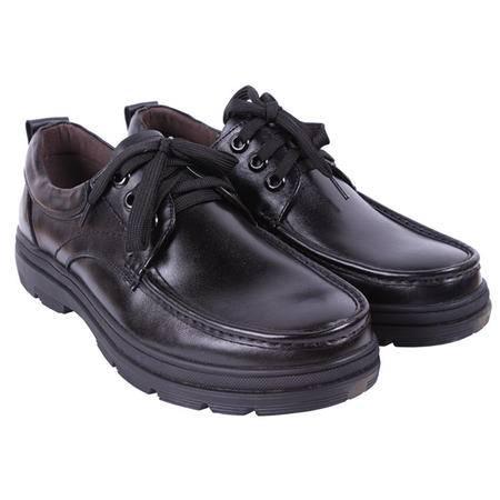 法国路易保罗新款正品01613 头层牛皮气垫男鞋 舒适商务休闲鞋