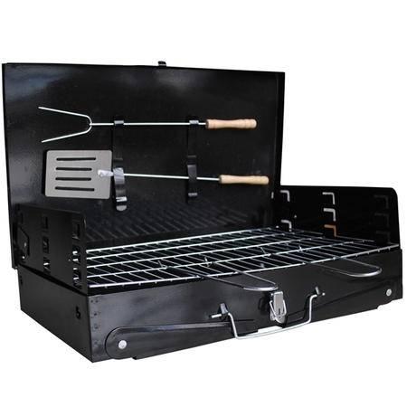 创悦 便携手提式户外野营烧烤炉(送铲、钗) CY-5891