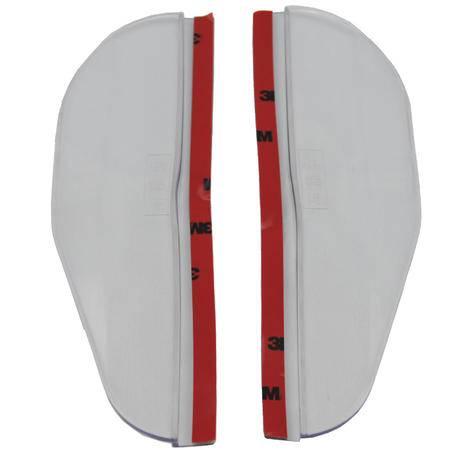 车旅伴后视镜遮雨板二片装(透明)HQ-C1050