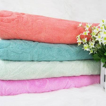 清悦 生态竹纺 竹纤维提花浴巾TO-152 梅兰竹菊 70*140cm