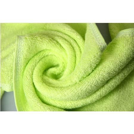 清悦 charmyee 生态竹纺 竹纤维毛巾 中方巾 26*28cm