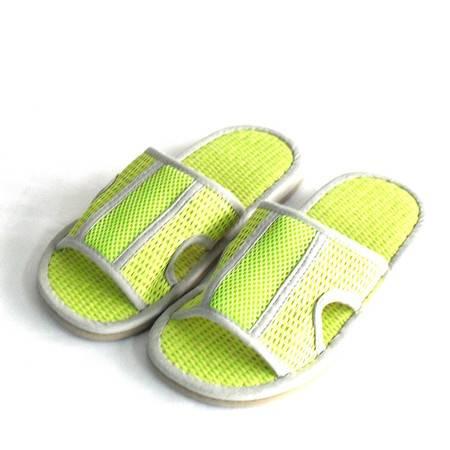 江水来 江水来女式居家室内拖鞋-JSL-16 绿色 260MM JSL-16-1