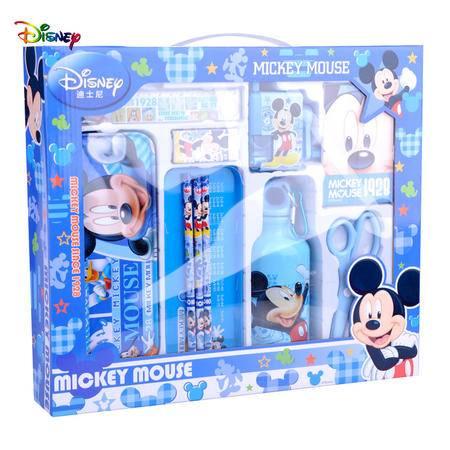 迪士尼米奇米妮学习用品套装带水壶文具礼盒 Z6979