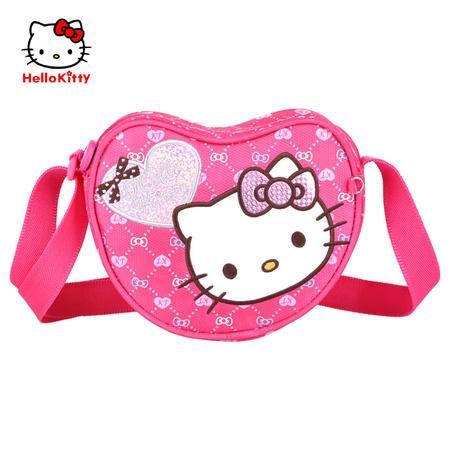 Hello Kitty凯蒂猫儿童斜挎包心形单肩包CC-HK3082