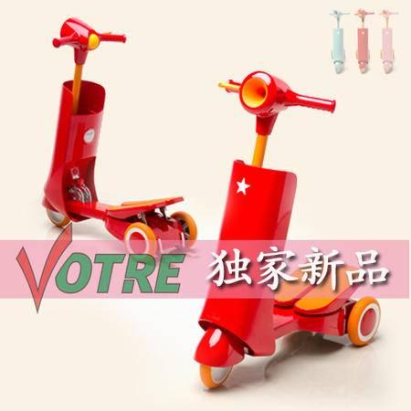 【独家发售】VOTRE新款韩版健步滑板车/儿童玩具/健身器材 BT-1005 红色