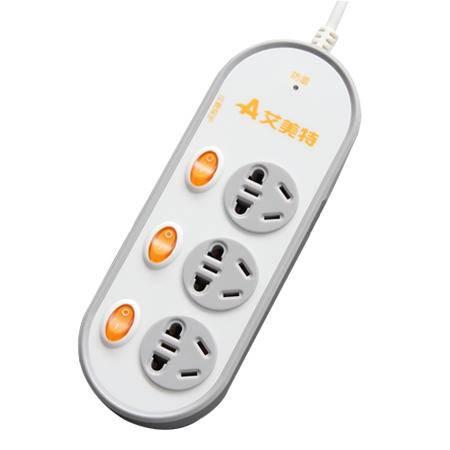 Airmate艾美特 SE3301-30 电源转换器 排插 安全卫士系列 插座 接线板 转接板