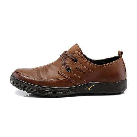 男鞋正品系带日常休闲鞋真皮皮鞋时尚潮流男鞋