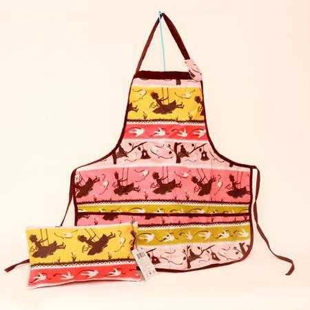 美琦兔 秘密花园系列mm06 帆布婴儿围裙