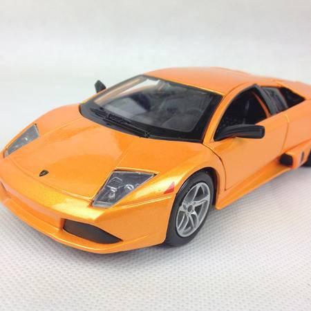 美驰图1/24 兰博基尼 蝙蝠 Lamborghini Murcielago Lp640 3129201金属仿真模型 橙色