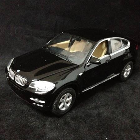 升辉 1/32 BWM宝马X6 840 仿真回力车模型玩具