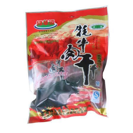 【青海特产】绿草源 牦牛肉干(香辣味)300g