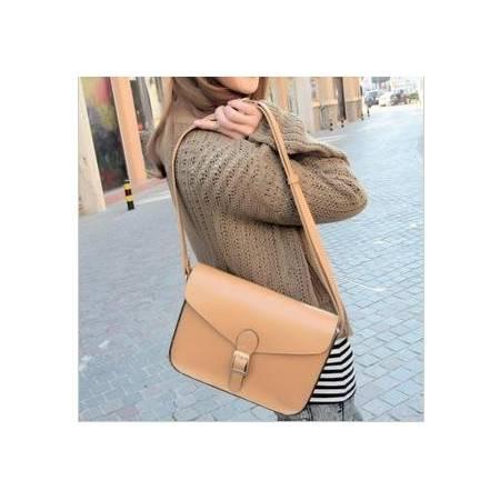 奥狄菲 2012新款糖果色复古邮差包斜挎单肩小包信封包 A108
