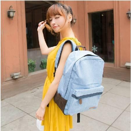 双肩包女学院风韩版潮书包男背包户外旅行包电脑包ody032