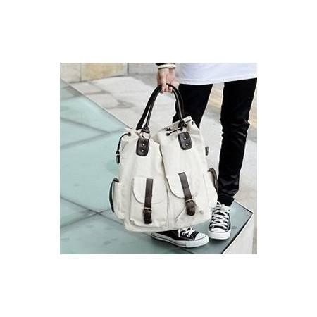 积卡逊-欧美时尚经典手提包斜挎单肩女包 潮款韩版帆布吊带机车包 包邮GC-0124