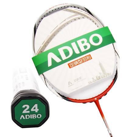 ADIBO艾迪宝 定磅型羽拍 最适合穿线磅数24 女士进攻型 TBO24N 进口碳纱(未穿线)
