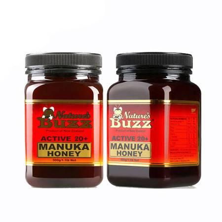5折-纽蜂宝 Natures Buzz Active 20+马奴卡蜂蜜 2瓶装(不含关税)