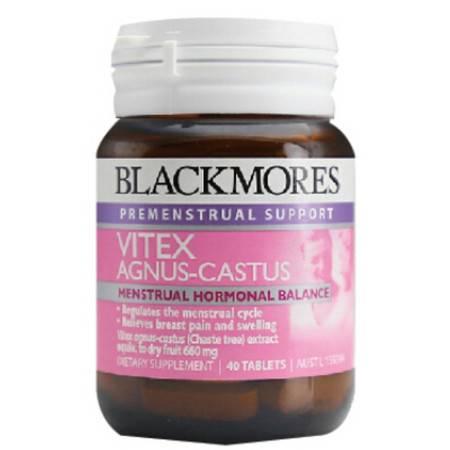 Blackmores Vitex Agnus_Castus 圣洁莓 40粒 X 2
