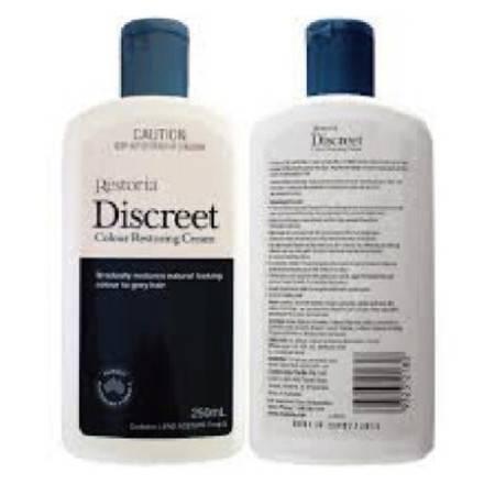 Restoria Discreet 还原黑发乳 250ml X 2