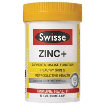 Swisse Zinc+锌元素片 60粒 X 2