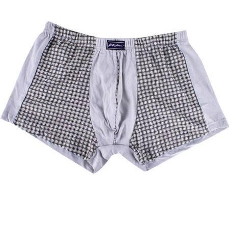 金丰田全棉宽松男士平角裤(2条装) 3119