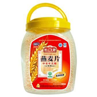 金惟他 930g全粒快熟 无添加蔗糖 桶装燕麦片
