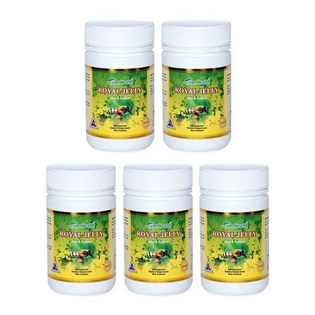 Greenhealth蜂王浆胶囊 5瓶装