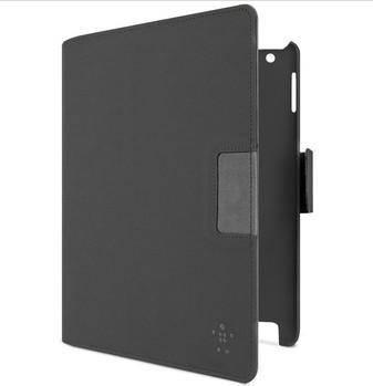 贝尔金iPad2/3/4旋转观影保护套(黑皮灰衬)F8N754qeC01