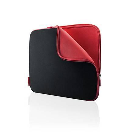 贝尔金 迷你笔记本电脑内袋(黑/红色,10.2寸) F8N181qeBR