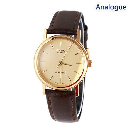 Casio/卡西欧 MTP-1095Q系列经典设计简约皮带男士手表