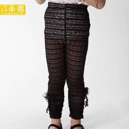 江南霖童装 秋冬款女童镂空透气打底裤 JAXZ2204