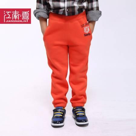 江南霖童装 秋冬款男童长裤中大童儿童加厚拉绒运动裤JBDZ2201