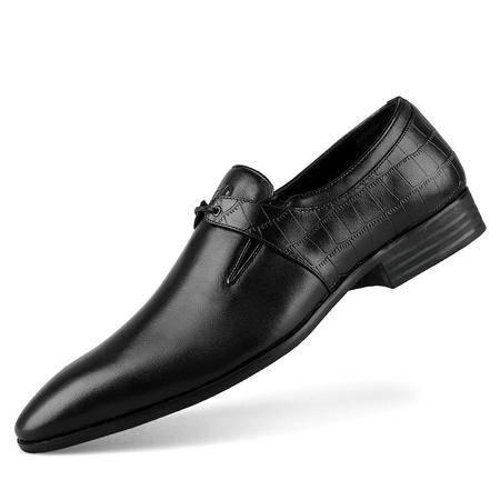 Zero/零度 商务皮鞋 尖头款 系带正装皮鞋 新品正装男鞋 9973