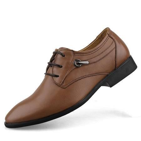 Zero/零度 正装男鞋 头层软牛皮 夏季婚鞋 商务皮鞋 9930